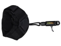 TRUGLO Speed-Shot Rope Bow Release Velcro Wrist Strap Black