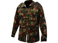Military Surplus Swiss M83 Field Jacket Grade 1 Camo Large