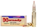 Hornady Match Ammunition 308 Winchester 155 Grain A-Max Box of 20