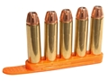 Tuff Products Quickstrip 357, 38, 40 S&W, 6.8mm 5 Round Polymer Package of 2 Orange