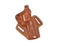 "Galco Fletch Belt Holster Right Hand S&W 586, 686 Colt Python, King Cobra 4"" Barrel Leather Tan"