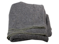 "Military Surplus Polish Blanket Wool Gray 60"" x 80"""