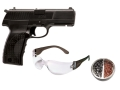 Crosman 1088 Air Pistol Kit .177 Caliber CO2 Sem-Automatic Polymer Stock Black