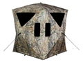 Big Game The Charger Ground Blind 66&quot; x 66&quot; x 64&quot; Nylon Epic Camo