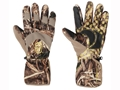 Hard Core Men's Omega Insulated Gloves Brushed Tricot Realtree Max-5 Camo