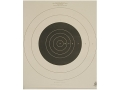NRA Official High Power Rifle Target MR-52 200 Yard Slow Fire Paper Package of 100