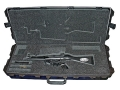 Pelcian Storm 3100 Scoped Rifle Gun Case with Solid Foam Insert and Wheels Polymer