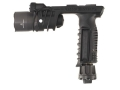 Surefire M900A Vertical Foregrip Light Xenon with White LED Bulbs and A.R.M.S. Lever Mount with Batteries (3 CR123A) Aluminum and Composite Gray Hard Anodized