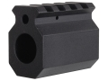 "DoubleStar Gas Block Single Picatinny Rail AR-15, LR-308 Lightweight Barrel .625"" Inside Diameter Aluminum Matte"