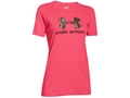 Under Armour Women's Camo Logo Short Sleeve T-Shirt Charged Cotton