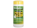 Remington Rem Oil Gun Oil Pop-up Wipes 60 Count Container