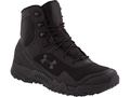 "Under Armour UA Valsetz RTS 7"" Uninsulated Tactical Boots Leather and Nylon Black Men's"