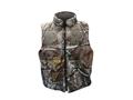 Gamehide Men's Deer Camp Reversible Waterproof Insulated Vest Polyester Blend Blaze Orange / Realtree AP Camo