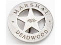 Collector&#39;s Armoury Replica Old West Deluxe Marshal Deadwood Badge