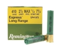 Product detail of Remington Express Long Range Ammunition 410 Bore 2-1/2&quot; 1/2 oz #7-1/2 Shot Box of 25