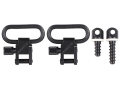 "BlackHawk Lok-Down Sling Swivel Set Wood Screw Type 1"" Steel Blue"