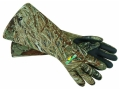 Flambeau Neoprene Gauntlet Gloves Mossy Oak Duck Blind Camo
