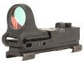 C-More Tactical Railway Reflex Sight 8 MOA Red Dot with Click Switch and Integral Picatinny Mount Polymer Matte
