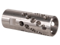 "AR-Stoner Heli-Port Muzzle Brake 9/16""-24 Thread AR-15 6.5mm Stainless Steel"