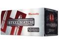 Hornady Steel Match Ammunition 223 Remington 55 Grain Hollow Point Steel Case Box of 50