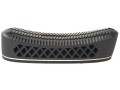 "Pachmayr T550 Deluxe Trap Recoil Pad 1.1"" Large Pigeon Face Black with White Line"