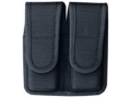 Product detail of Bianchi 7302 Double Magazine Pouch 1911, Ruger P90 Hidden Snap Closure Nylon Black