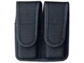Bianchi 7302 Double Magazine Pouch Beretta 92, Glock 17, 19, 22, 23 Nylon Black