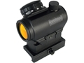 Bushnell Trophy TRS-25 Red Dot Sight 1x 25mm 3 MOA Dot with Integral Hi-Rise Weaver-Style Mount Matte