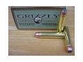 Grizzly Ammunition 50 Alaskan 450 Grain Hawk Bonded Core Jacketed Flat Point Box of 20