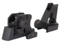 Product detail of GMG Detachable Front and Rear Sight Combo A2-Style AR-15 Aluminum Matte