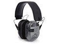 Walker's Ultimate Digital Quad Connect Electronic Earmuffs with Bluetooth (NRR 27dB) Gray