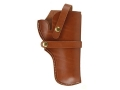 "Hunter Belt Holster Right Hand S&W X-Frame 460, 500 4"" Barrel Leather Brown"