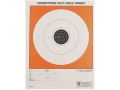 Hoppe's Single Bull Target 50' Junior Rifle Package of 20
