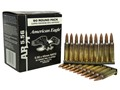 Federal American Eagle Ammunition 5.56x45mm NATO 55 Grain XM193 Full Metal Jacket Boat Tail in 10 Round Clips Box of 90