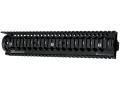 Daniel Defense Omega 12.0 Free Float Tube Handguard Quad Rail AR-15 Rifle Length Aluminum Black