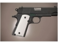 Hogue Extreme Series Grip 1911 Officer Aluminum Matte Clear