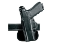 Safariland 518 Paddle Holster Left Hand Beretta 92 FC, FS Centurion, 96 DC, Centurion, Taurus PT92C, PT99C Laminate Black