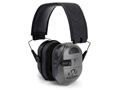 Walker's Ultimate Alpha Power Muff Electronic Earmuffs (NRR 24dB) Gray