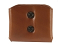 Galco DMC Double Magazine Pouch 40 S&W, 9mm Double Stack Magazines Leather Tan