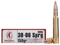 Nosler Trophy Grade Ammunition 30-06 Springfield 150 Grain Partition Box of 20