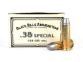Product detail of Black Hills Cowboy Action Ammunition 38 Special 158 Grain Lead Conical Nose Box of 50
