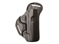 BLACKHAWK! Check-Six Belt Holster Right Hand Springfield Armory XDM Leather Black