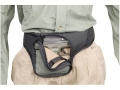 Soft Armor Merlin Fanny Pack Medium to Large Frame Semi Automatics Nylon Gray