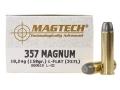 Magtech Cowboy Action Ammunition 357 Magnum 158 Grain Lead Flat Nose