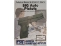 "Product detail of American Gunsmithing Institute (AGI) Technical Manual & Armorer's Course Video ""Sig Sauer Auto Pistols "" DVD"