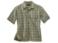 Woolrich Elite Discreet Concealed Carry Short Sleeve Shirt Synthetic Blend Light Olive XXL