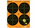 "Caldwell Orange Peel Target 4"" Self-Adhesive Bullseye (4 Bulls Per Sheet)"
