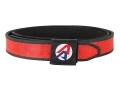 "Double-Alpha Competition Double Belt 1-1/2"" Nylon Red 36"""