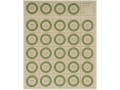 National Target International Bench Rest Shooters Target IBS 50 YD Rimfire Paper Package of 100