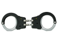 ASP Model 300 Rigid Handcuffs High Carbon Steel with Polymer Overmolded Frame Black